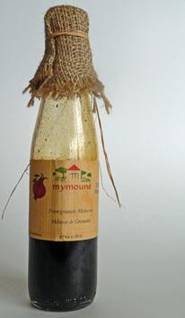 Pomegranate Molasses Vinaigrette w/ Spring Greens