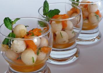Nashi Pearls & Mandarins (Asian Pears & Tangerines)