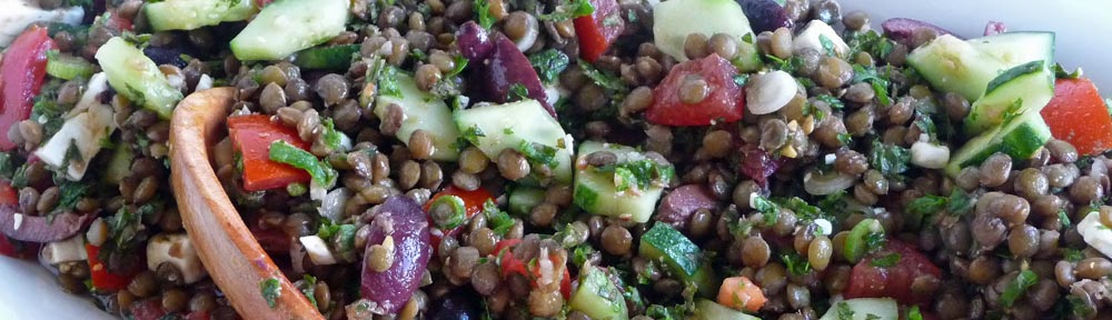 French Green Lentil Salad – A Summertime Favorite