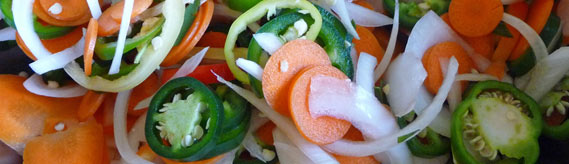 Escabeche – Lacto-Fermented Chili Peppers