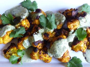 Tahini Sauce with Fresh Herbs and Spice