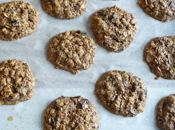 Chocolate Chunk Cranberry Oatmeal Cookies