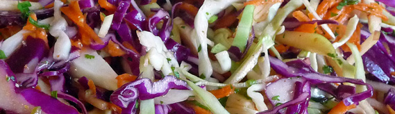 Apple Cabbage Slaw – Crisp, Colorful, Light & Flavorful