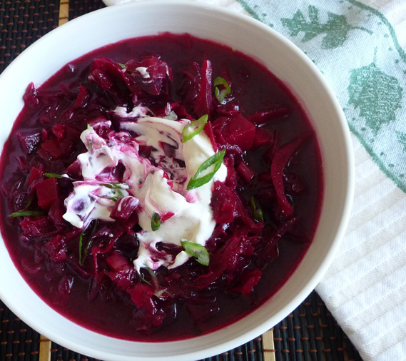 Beet Cabbage Borscht One of the World's Great Soups
