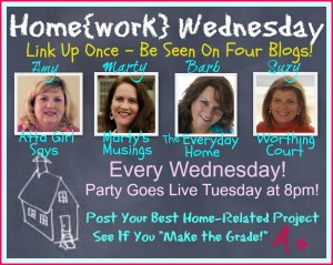 Home{work} Wednesday #8  (and a great Summer recipe!)
