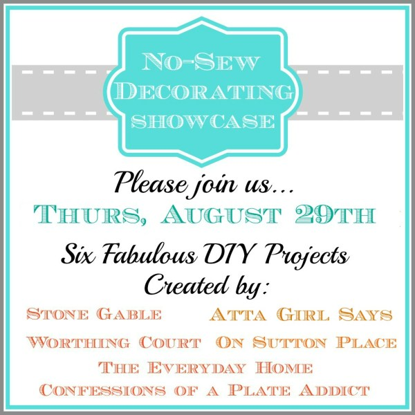 No-Sew Decorating Showcase at The Everyday Home