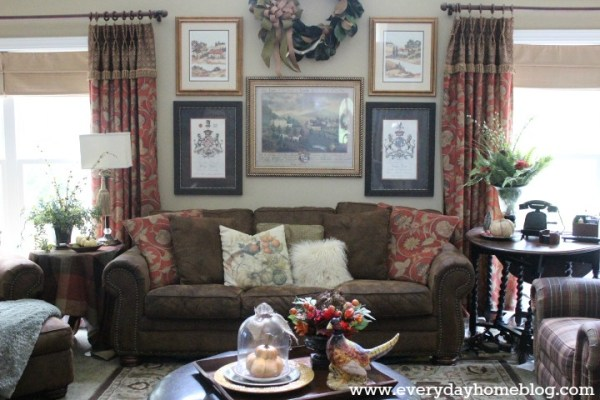 Here is the Family Room from the Summer Tour.