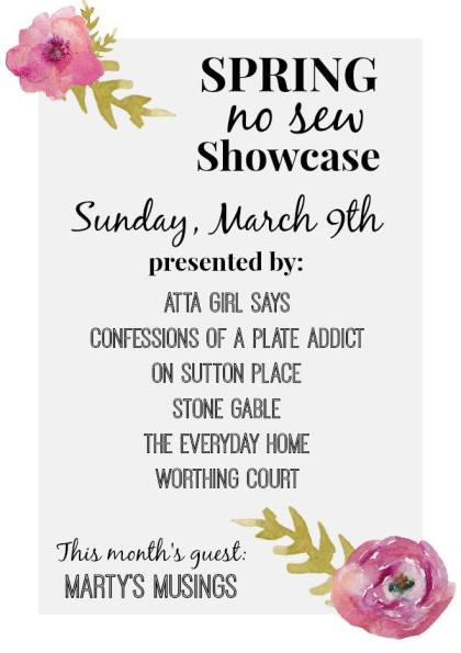 Spring No Sew Showcase at The Everyday Home