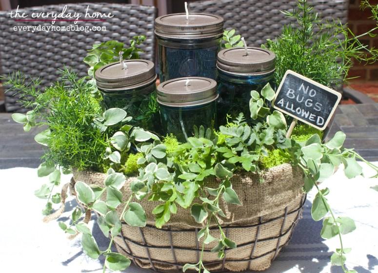 DIY Citronella Mason Jar Candles The Everyday Home Blog www.everydayhomeblog.com (20)