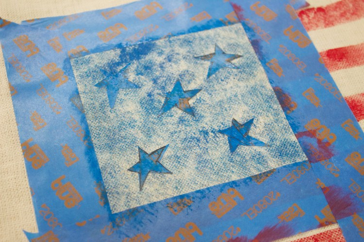 How to Stencil Stars
