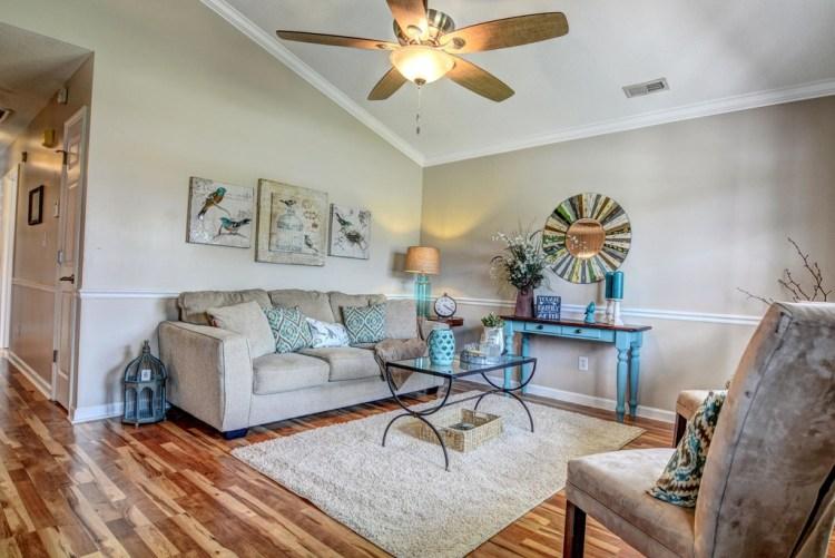 Renovation Property Living Room After | The Everyday Home | www.everydayhomeblog.com