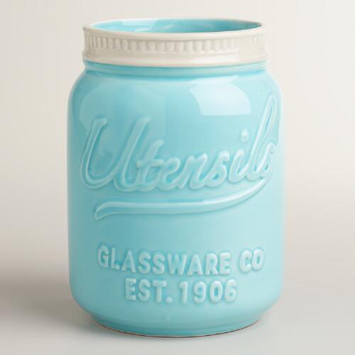 Mason Jar Utensil Holder  Ultimate Gift Guide for Mason Jar Lovers   The Everyday Home