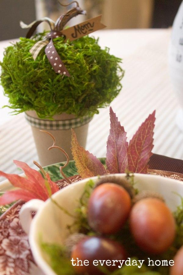 How to Make a Fall Placecard   The Everyday Home   www.everydayhomeblog.com