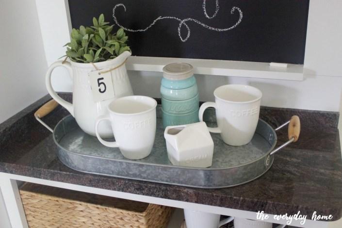 Granite Top Custom Cabinet | The Everyday Home | www.everydayhomeblog.com