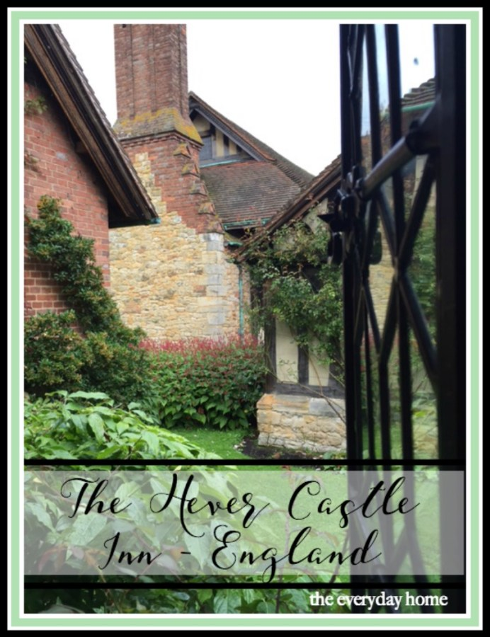 Hever Castle Inn England Tour | The Everyday Home