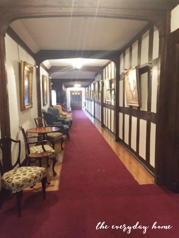 Hever Castle Inn | Hallway 2 | The Everyday Home