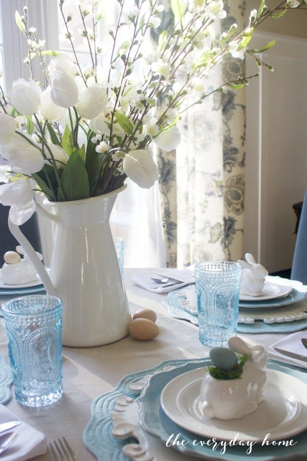 Spring Home Tour   Easter Table   The Everyday Home