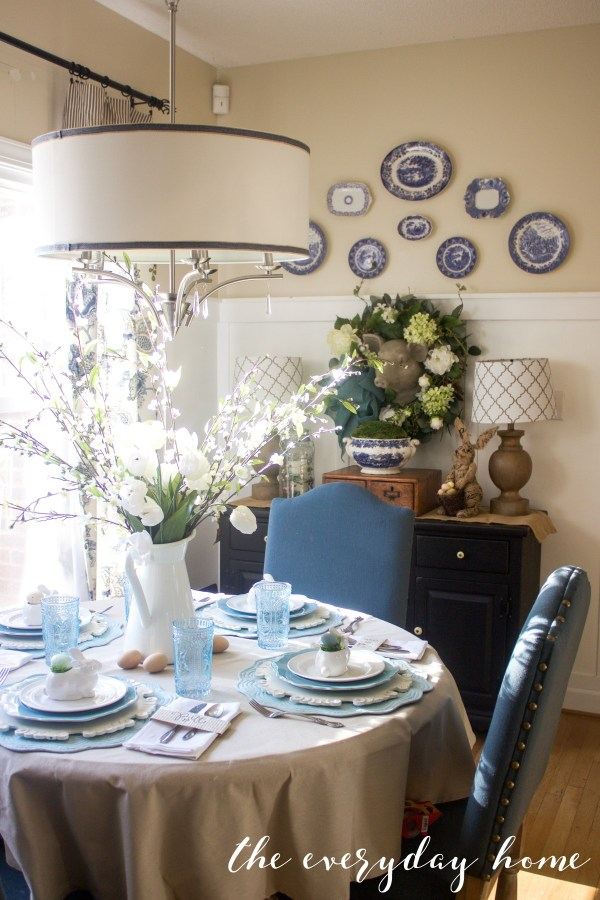 Spring Kitchen Tour   Breakfast Room   The Everyday Home