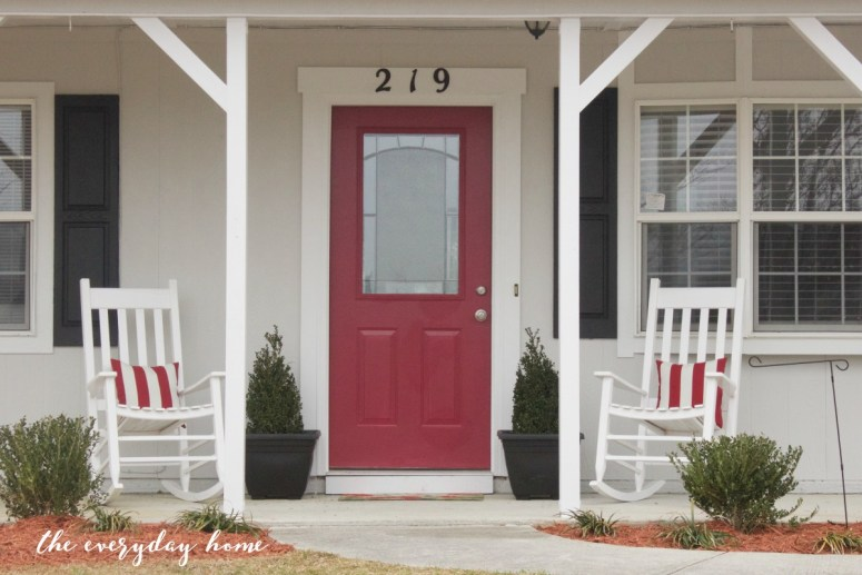 DIY Front Door | The Everyday Home