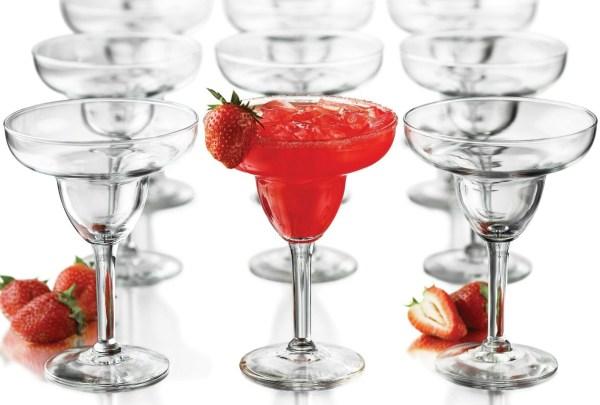 12-Pc Margarita Glass Set