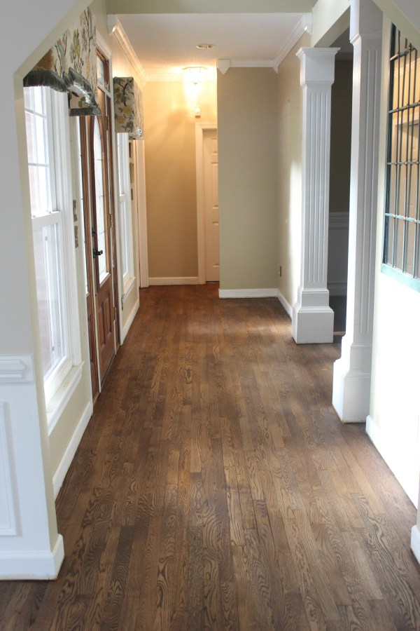 Foyer Stained After