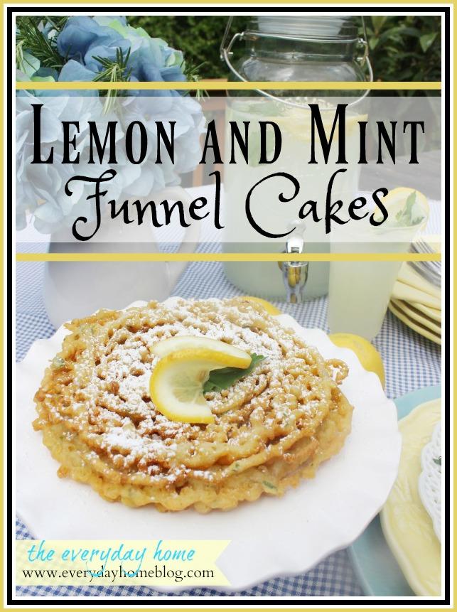 Homemade Funnel Cakes | The Everyday Home | www.everydayhomeblog.com