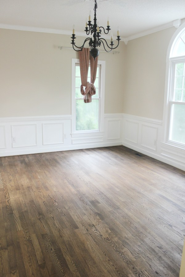 Living Room After Stain
