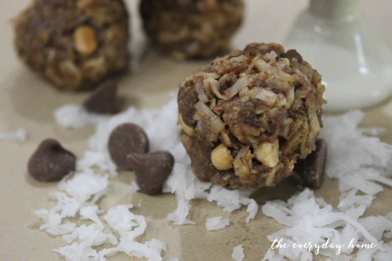 Easy No Bake Energy Bites | The Everyday Home | www.everydayhomeblog.com