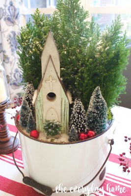 Little Church in the Woods Centerpiece