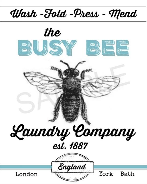 busy-bee-printable-sample | The Everyday Home | www.everydayhomeblog.com