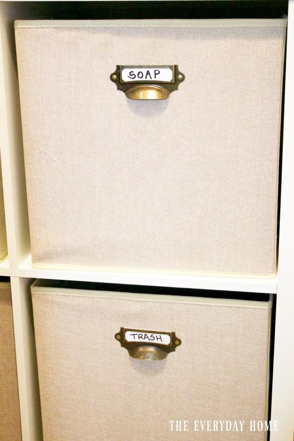diy-laundry-bin-cubby-baskets | The Everyday Home | www.everydayhomeblog.com