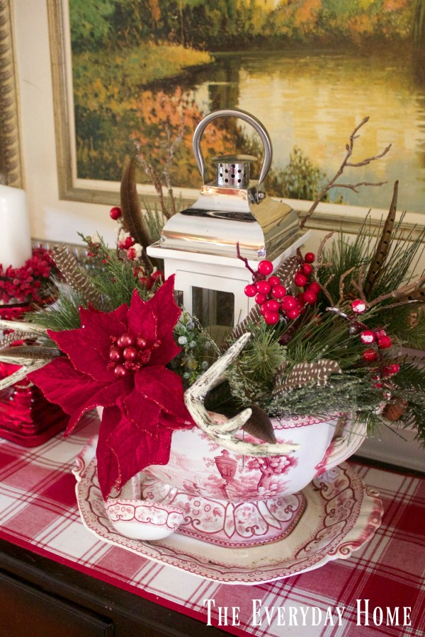 Dining Room Buffet for Christmas