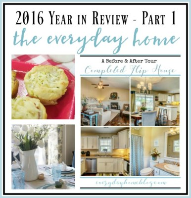 2016 Year in Review {Part 1}
