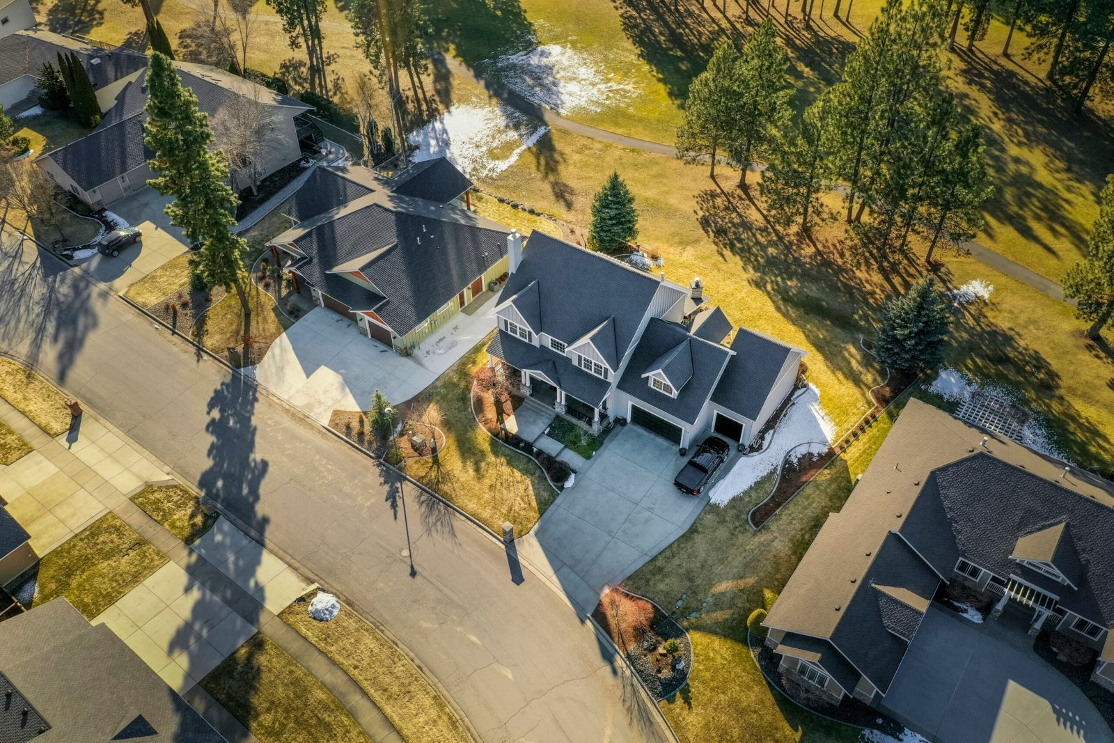 Real Estate Video Tour Production in Spokane - Drone Aerial