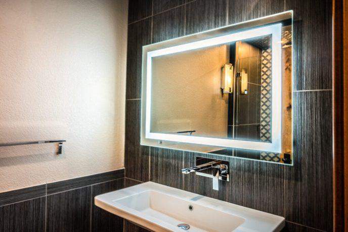 Real Estate Video Tours - LED Vanity Bathroom