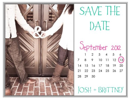 Calendar - Save the Date
