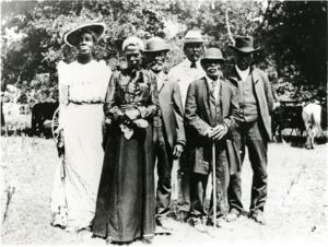 A Juneteenth celebration at Eastwood Park in Austin, Texas (1900)