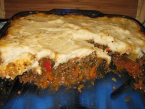 Potato-Free Shepherd's Pie