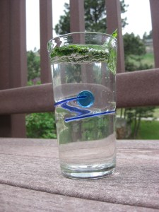 Refreshing Sparkling Mint Drinks or Virgin Mint Juleps