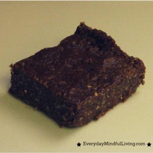 Healthy Chocolate Fudge Bars Recipe