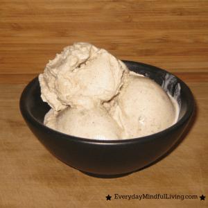 3-Ingredient Maple Chai Ice Cream