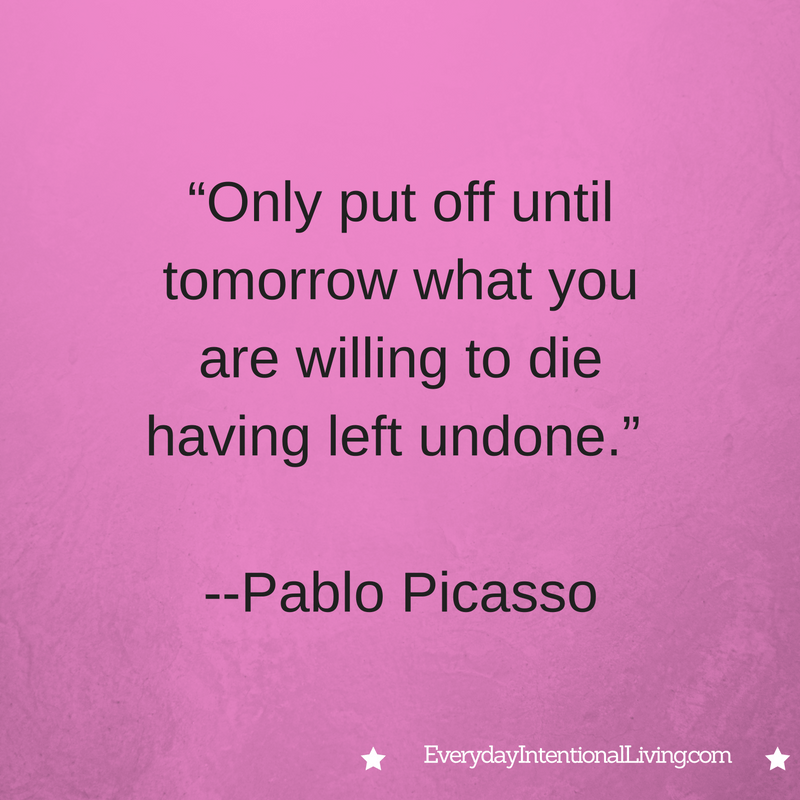 Thought for the Day: Picasso