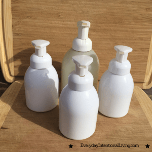 Refilling Foaming Hand Soap Containers