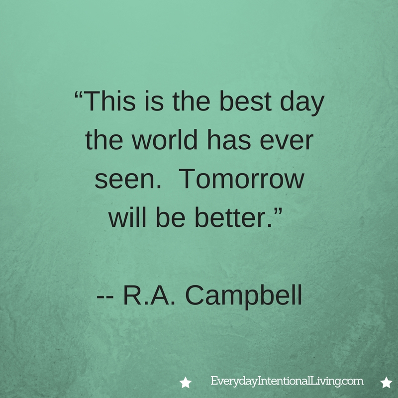 Thought for the Day: Campbell