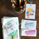 Watercolor Mother's Day Tag Printables
