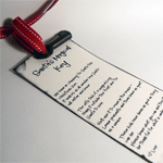 Santa's Magic Key Poem Printable