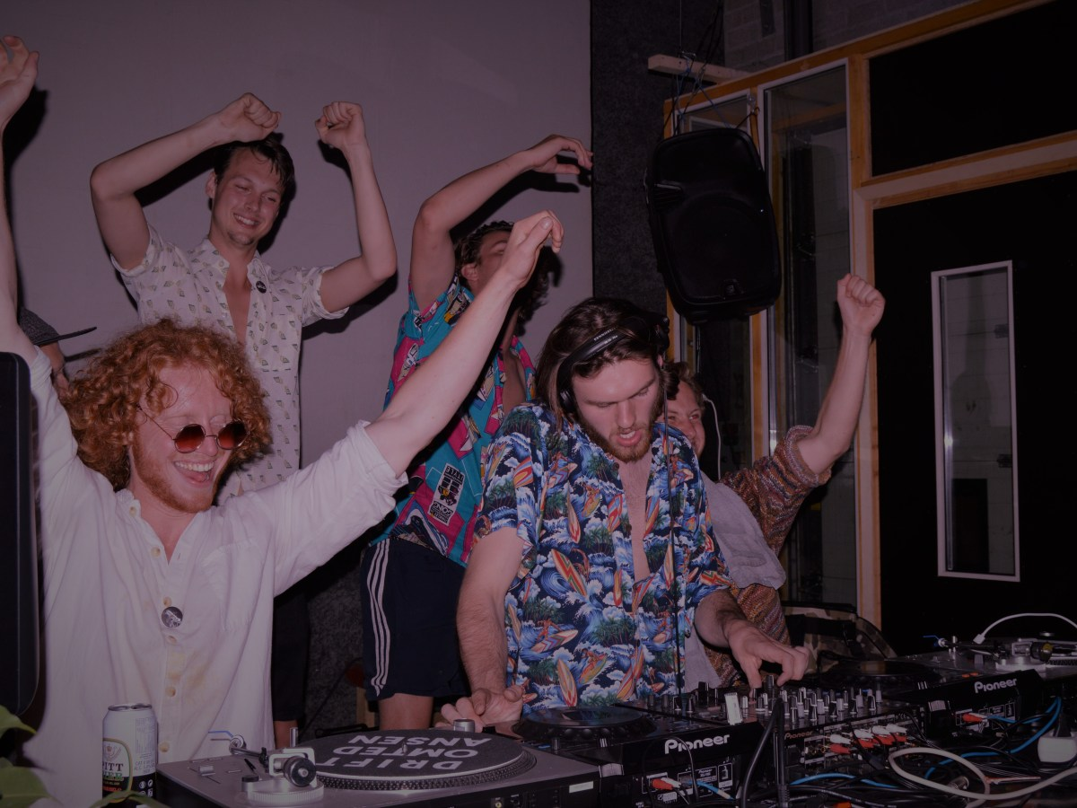 DJs at club