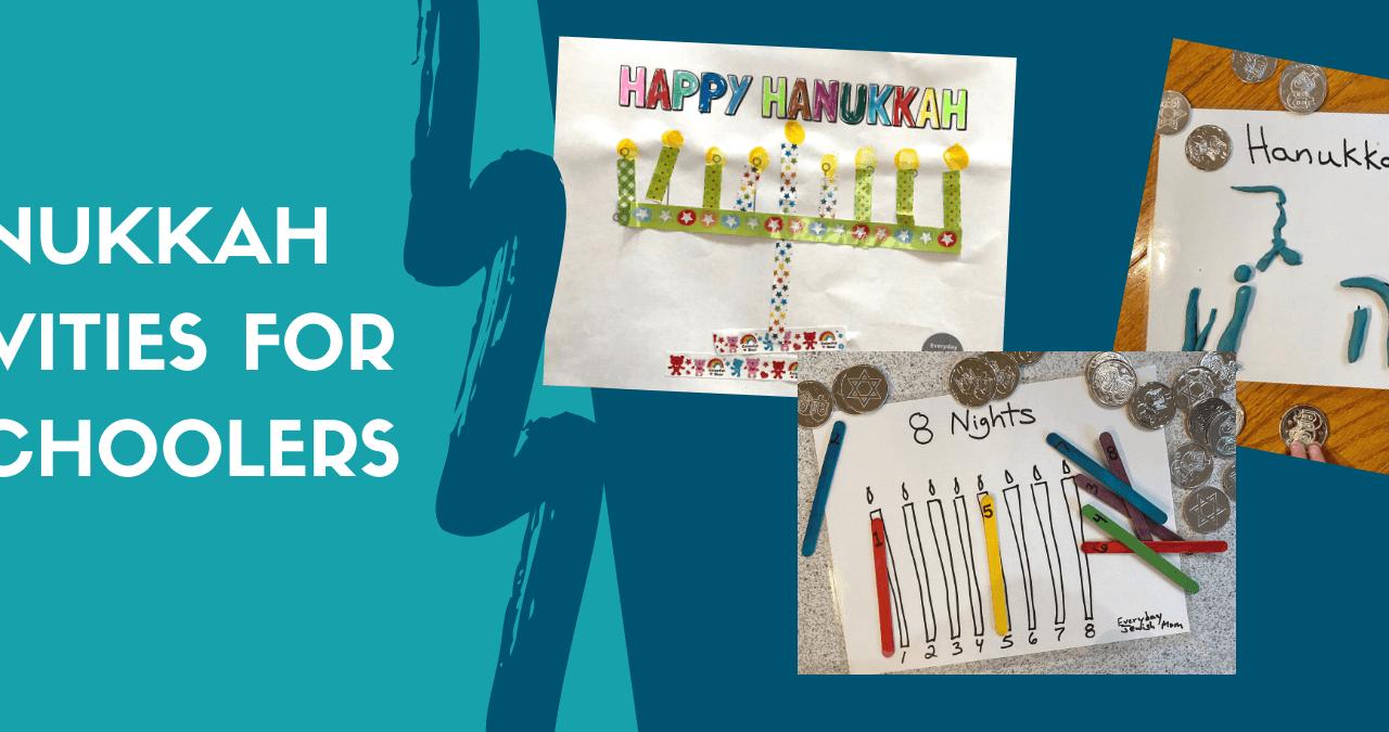hanukkah activities for preschooler