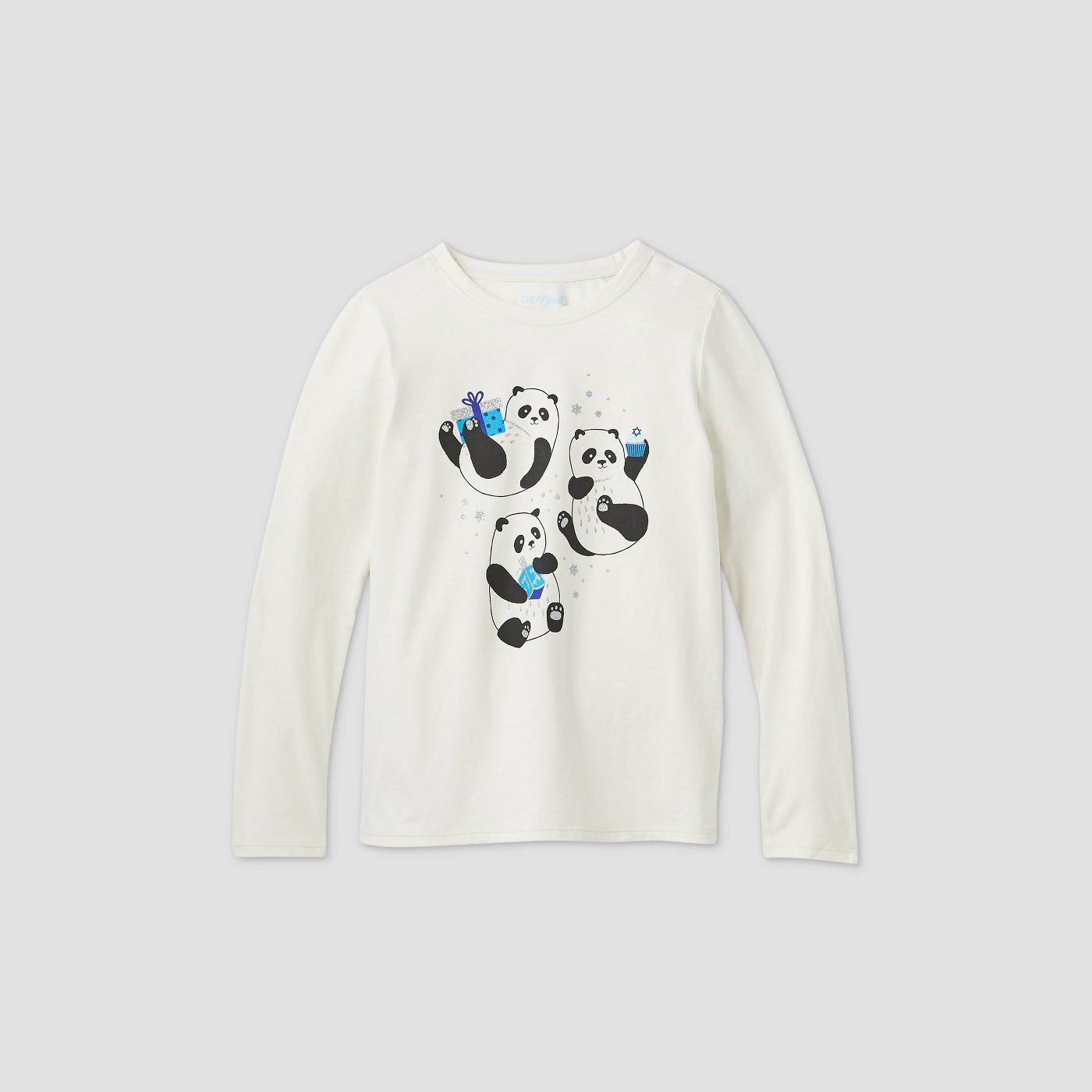 Target Hanukkah shirt panda