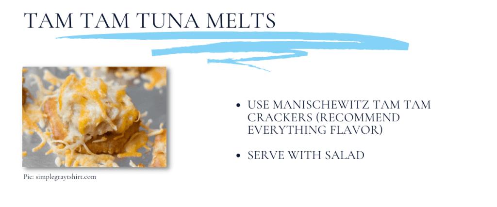 Tiny Tuna Melts